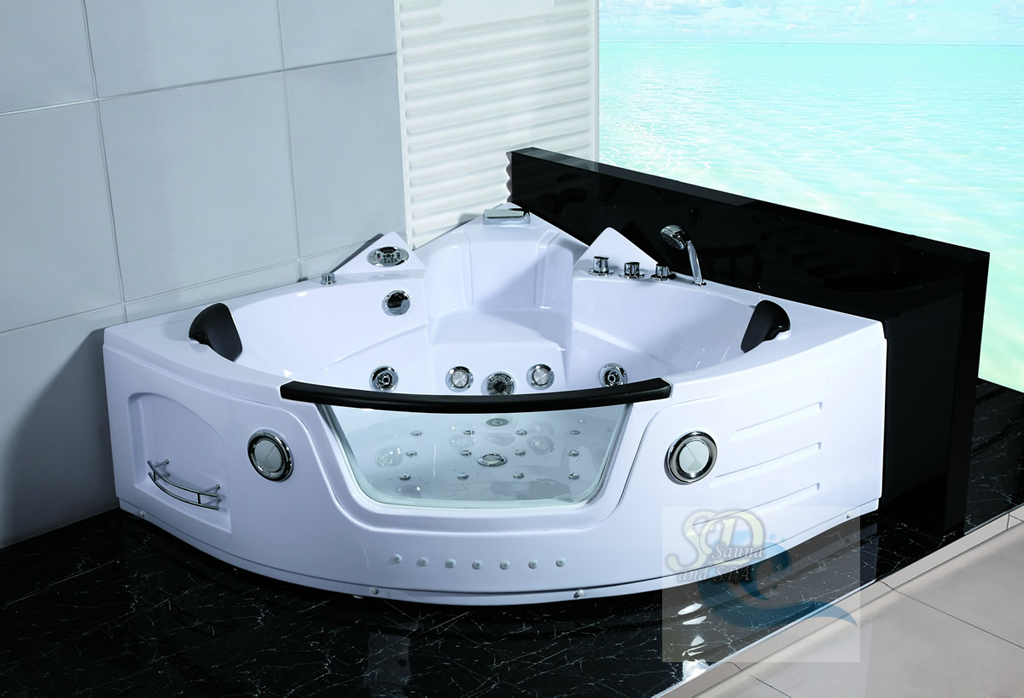 New 2 Person Jacuzzi Whirlpool Massage Hydrotherapy Bathtub Tub Indoor White Ebay