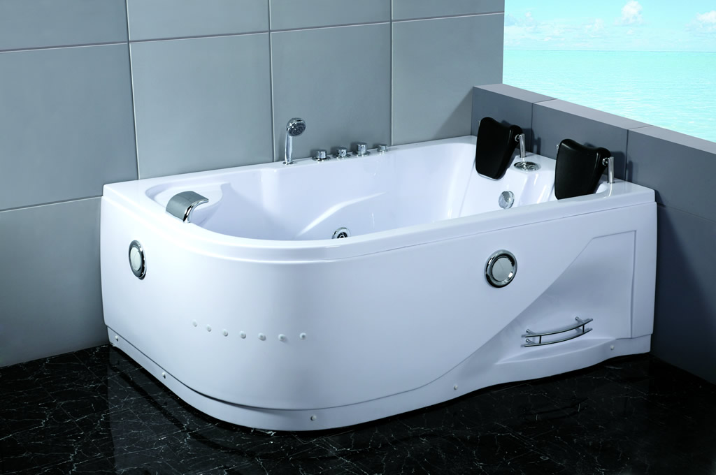 Details About Two 2 Person Indoor Whirlpool Hot Batht Tub Jetted Mage Bathtub Hydrotherapy